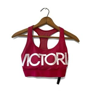 Victoria's Secret sport logo mesh sports bra XS